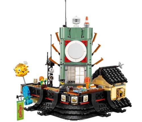 Конструктор Ниндзяго Сити / Ниндзя Го 5041 деталь (NinjaGo Movie 10727) фото 5